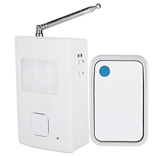 Wireless Electronic Waterproof Remote Push Button With Dog Barking Sound Doorbell with LED Indicator, Nightlight + Music + Flash mode, 16 Melodies to Choose