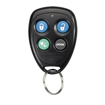 Prestige Audiovox 91P (FCC ID: H50T43) Keyless Entry/Alarm/Remote Start Remote + Programming Instructions ()