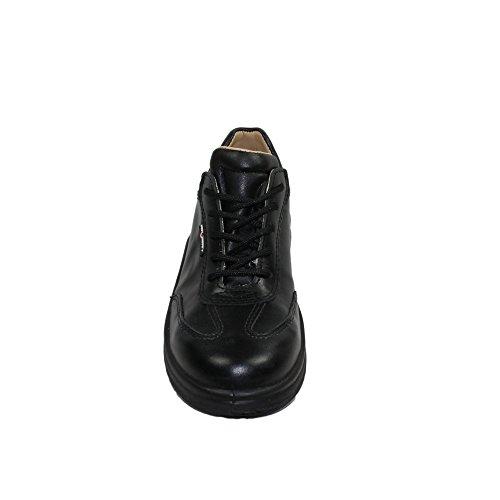AIMONT - Calzado de protección de Piel para hombre Negro negro negro