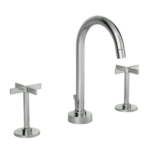 Jado Brushed Nickel Widespread Faucet Widespread Brushed