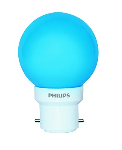 Philips Deco Mini 0.5-Watt B22 Base LED Bulb (Blue)