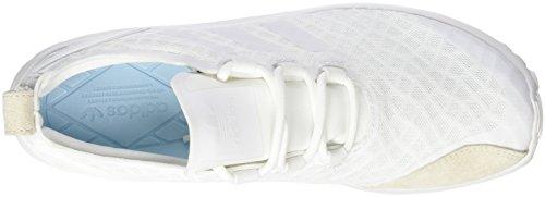 adidas Damen ZX Flux ADV Verve Sneakers Weiß (Core White/Core White/Ftwr White)