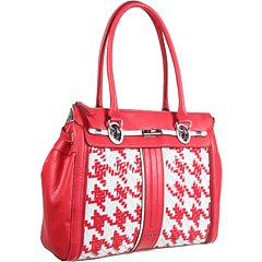 GUESS Love Lock Satchel Red Multi by GUESS (Image #5)