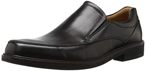 ECCO Men's Holton Apron Toe Slip On, Black, 44 EU/10-10.5 M ()