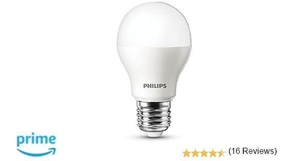 Philips 929000278731 - Bombilla LED estándar mate, 5.5W (40watt), casquillo E27, luz cálida, no regulable