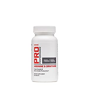 GNC Pro Performance Arginine and Ornithine 60 Tablets