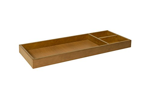 - Universal Wide Removable Changing Tray in Chestnut