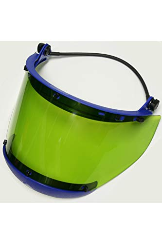 National Safety Apparel H50XX12CALCAFUB High VLT Anti-Fog Faceshield with Full Brim Adapter and No Hard Hat, One Size by National Safety Apparel Inc (Image #1)