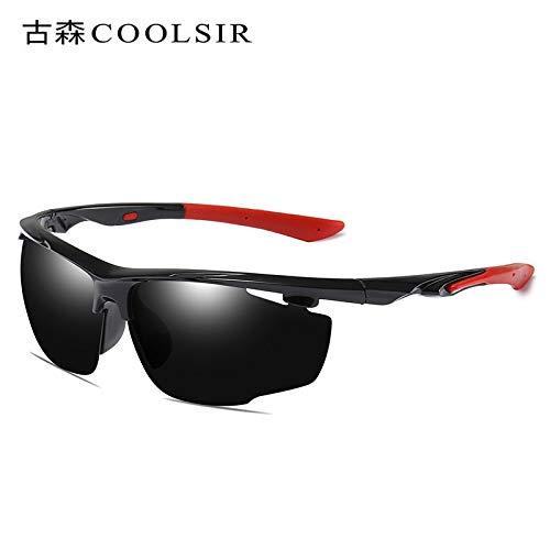 Gafas nbsp;polarizadas Mjia Las Libre A Anaranjado al nbsp; Gafas Deportivas de Black de sunglasses nbsp;Gafas conducen Que box Marco Aire del Sol Hombre nbsp;Sol polarizador de AqqHwIxZ