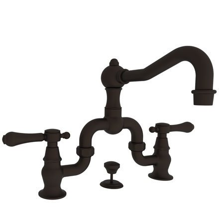 Newport Brass 1030B Chesterfield Double Handle Widespread Lavatory Faucet with M, Oil Rubbed ()
