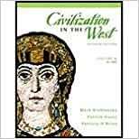 Book Civilization in the West, Volume A (7th, 08) by Kishlansky, Mark - Geary, Patrick - O'Brien, Patricia [Paperback (2007)]