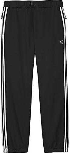メンズ スキー・スノーボード ボトムス・パンツ Adidas Lazy Man Snowboard Pants 2019 Black/White サイズXL [並行輸入品]