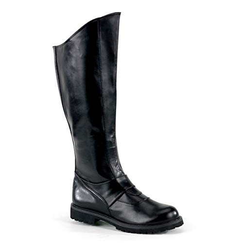 Funtasma by Pleaser Men's Halloween Gotham-100 Boot,Black Polyurethane,M (US Men's 10-11 M)]()