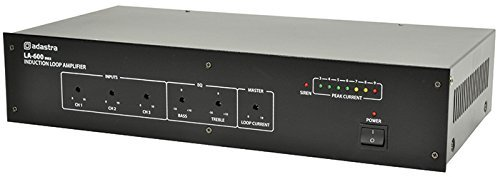 AMP16 - LA-SERIES LA-600 mkII INDUCTION LOOP AMPLIFIER ASSIST LISTENING HEARING AID USERS BUILT-IN SIREN 19'' RACK MOUNTING KIT LED INDICATION 19' Rack Mounting Kit
