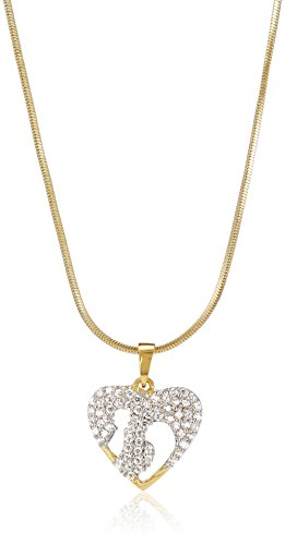SIA Art Jewellery (Necklace) for Women (Golden) (AZ3099)