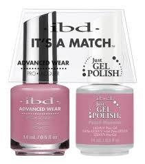 ibd Advanced Wear Color Duo Peach Blossom #655 UV Gel Color