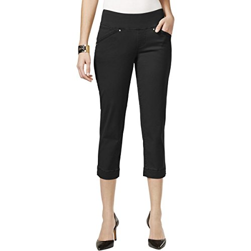 Jag Jeans Women's Marion Pull on Crop, Black, 10 for sale  Delivered anywhere in USA