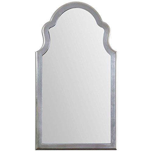 Uttermost 14479 Brayden Arched Mirror, Silver