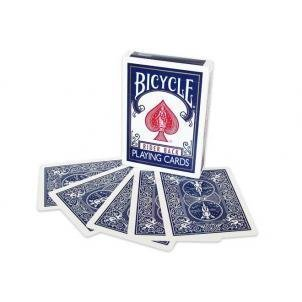 Double Back Cards (Bicycle) - blue/blue