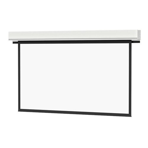 Advantage Deluxe Electrol Matte White Electric Projection Screen Viewing Area: 52