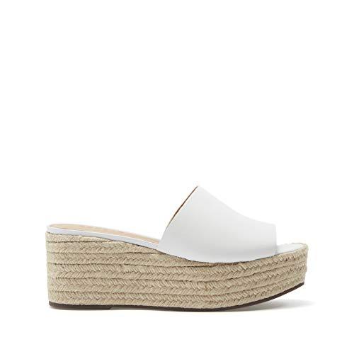 SCHUTZ, Shutz, Sandals, Slides, Slide Sandals, Dress Sandals, Dressy Sandals, Easy Slide Sandals, Easy Slide Shoes, Slip on Sandals, Dress Slip on Sandals, Dress Slip on Shoes, Day to ni White