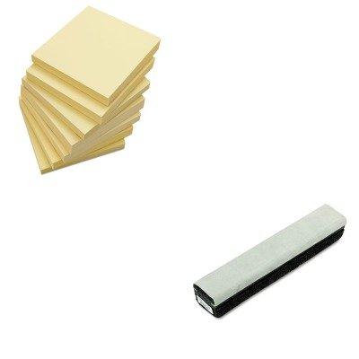 KITQRT807222UNV35668 - Value Kit - Quartet Deluxe Chalkboard Eraser/Cleaner (QRT807222) and Universal Standard Self-Stick Notes (Qrt807222 Deluxe Chalkboard Eraser)