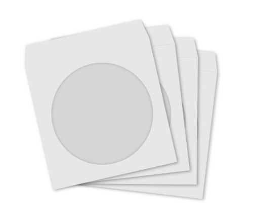 teknmotion-100-single-cd-dvd-paper-sleeves-with-clear-window-and-fold-over-flap