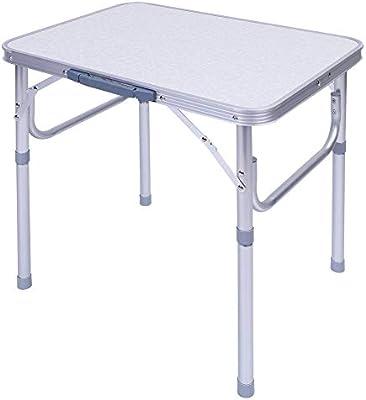 Mesa para Acampada Plegable de Aluminio Mesa Plegable ...