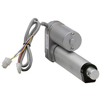 110-Lb  Capacity Linear Actuator - 1 97in  Stroke, Model# LD