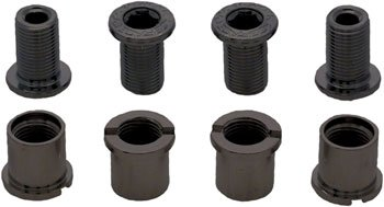 (RaceFace Chainring Bolt Pack Set of 4 12.5mm Bolt/Nut)