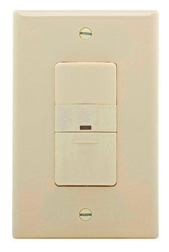 COOPER WIRING OS306U-LA-K Sensor Decorator Light Switch, White