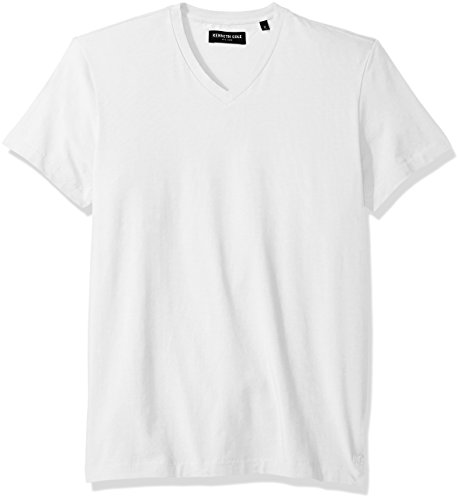 kenneth-cole-new-york-mens-cotton-spandex-v-neck-t-shirt-white-large