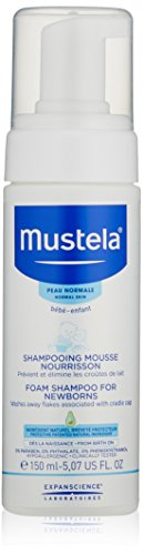 Mustela Foam Shampoo for Newborns, 5.1 oz.