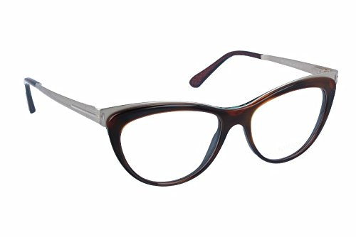 Tom Ford - FT 5373, Cat Eye, acetate/metal, women, DARK HAVANA GOLD(052 R), - Eye Cat Uk Glasses Prescription