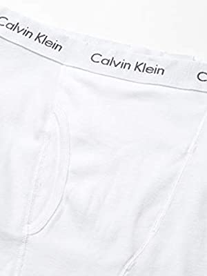Calvin Klein Men's Underwear Cotton Classics Boxer Briefs 5 Pack, White, S