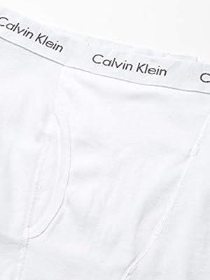 Calvin Klein Men's Underwear Cotton Classics Boxer Briefs 5 Pack, White, L