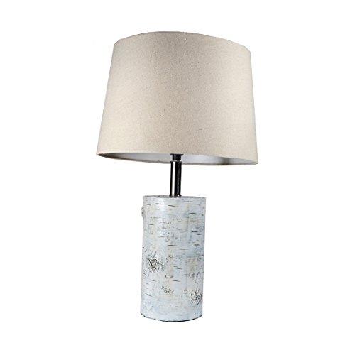 DEI Birch Log Lamp 22 Inches Resin Home -