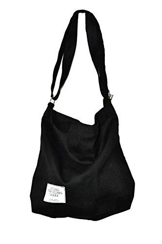 Nodykka Women Handbags Tote Bags Top Handle Satchel Canvas Crossbody Shoulder Purse With Zipper by Nodykka