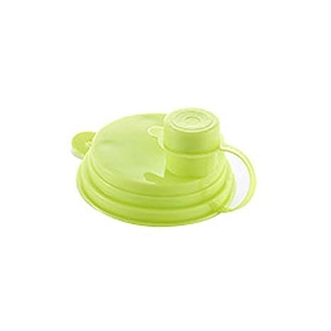 ONEVER 2pcs selladas a prueba de fugas Can Caps Libre de polvo dispensador de agua llave de la botella reutilizable Caps soda tapa-Verde: Amazon.es: Hogar