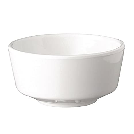 APS flotador blanco cuenco redondo de 4 en/comercial restaurante Cafe Pub restaurante: Amazon.es: Hogar