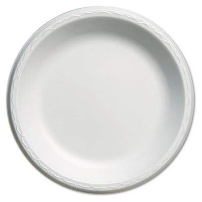 - Genpak LAM10 Elite Laminated Foam Plates, 10 1/4