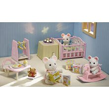 Calico Critters Nightlight Nursery Set from Calico Critters