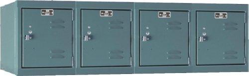 Hallowell U1482-4WM-HG Premium Locker, 48