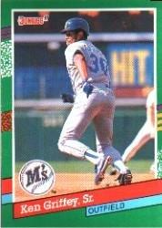 3f01d2d940 Amazon.com: 1991 Donruss Baseball Card #452 Ken Griffey Sr ...