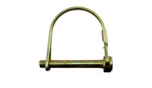 1//4 x 2 Round Wire Lock Pin 10 Pieces