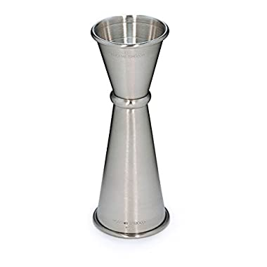 Cocktail Kingdom Japanese Style Jigger 1oz/2oz - Stainless Steel