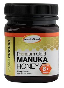 ManukaGuard: Gold Throat 8+ MGO 200, 8.8 oz by ManukaGuard