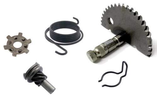 Kickstarter Reparatur Satz 5-teilig f/ür Peugeot Speedfight 1 2 AC//LC Buxy TKR Zenith