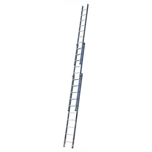 Youngman Trade 200 (2.5m - 5.7m) Triple Aluminium Extension Ladder 8 Rung 3 Section Tradex Tools Ltd Special Offer TTAM570121