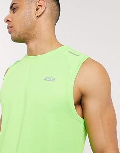 エイソス タンクトップ ノースリーブ アームホール メンズ ASOS 4505 icon running sleeveless t-shirt with mesh panels in [並行輸入品]